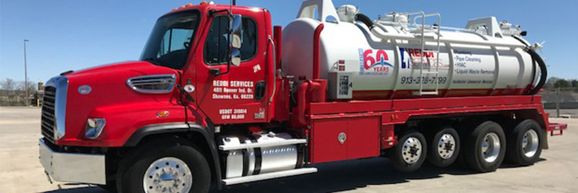 Reddi Services Septic Tank Cleaning Truck